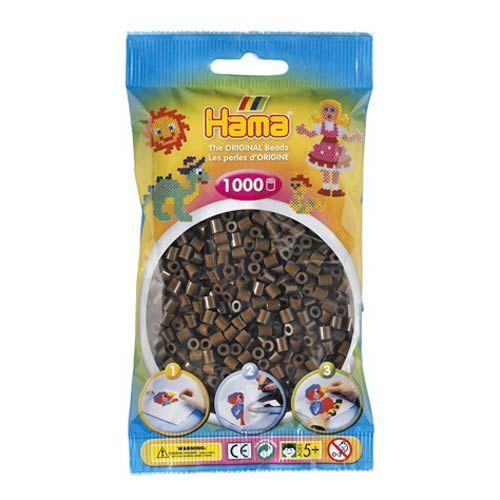 Bolsa de Hama midi marron de 1000 piezas Nº 207-12