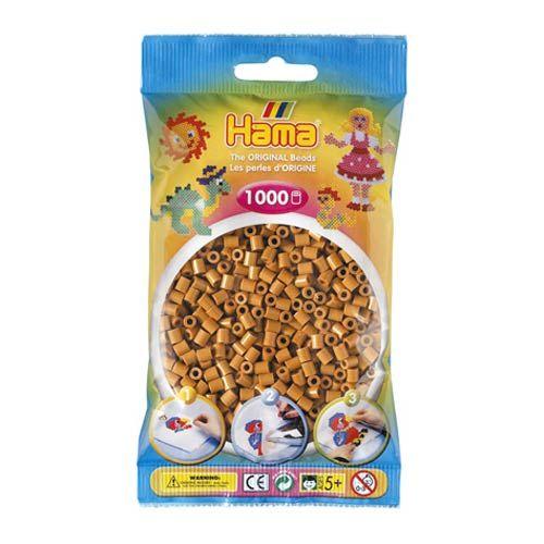 Bolsa de Hama midi marrón claro de 1000 piezas Nº 207-21