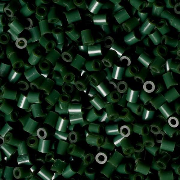 Bolsa de Hama midi verde oliva de 1000 piezas Nº 207-28