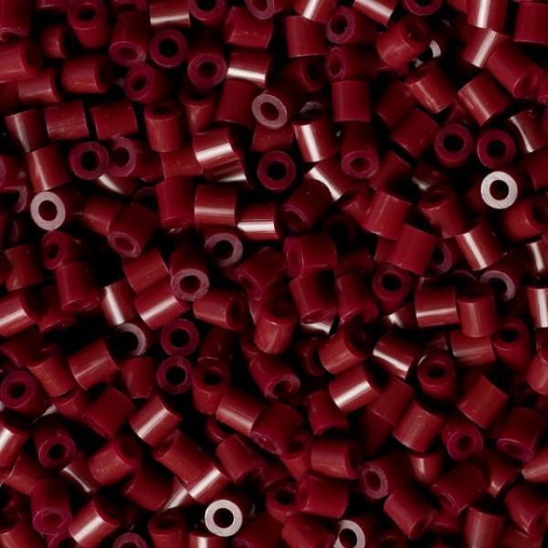 Bolsa de Hama midi borgoña/ caoba de 1000 piezas Nº 207-30