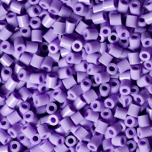 Bolsa de Hama midi violeta pastel de 1000 piezas Nº 207-45