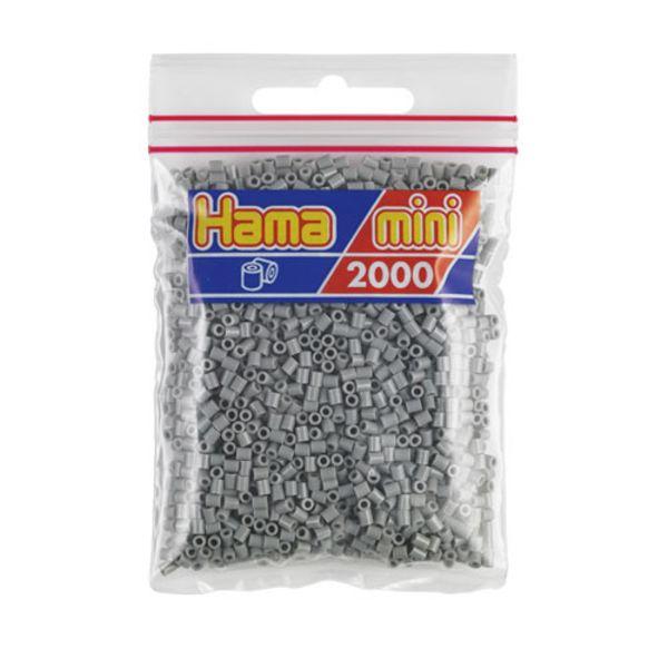 Bolsa de Hama Mini gris de 2000 piezas Nº 501-17