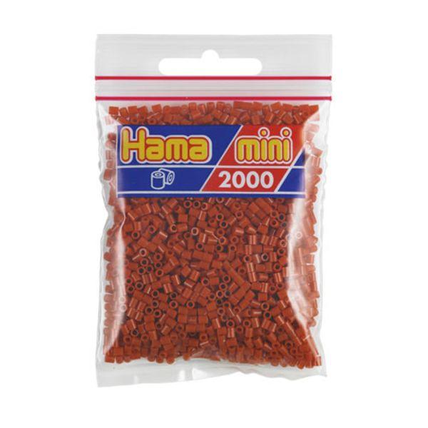 Bolsa de Hama Mini marrón claro/ rojizo  de 2000 piezas Nº 501-20