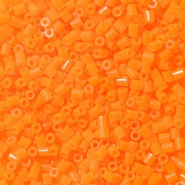 Bolsa de Hama Mini naranja neón de 2000 piezas Nº 501-38