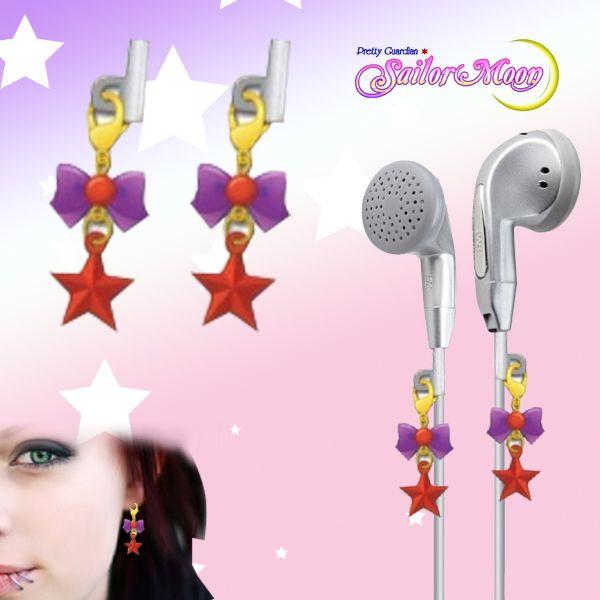 Gashapon Sailor Moon Earphone Charms - Sailor Marte