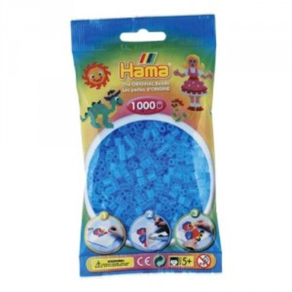 Bolsa de Hama midi agua translúcido de 1000 piezas 207-73