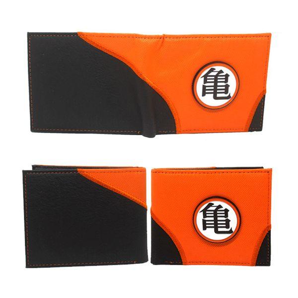 Cartera Dragon Ball Z Orange & Black