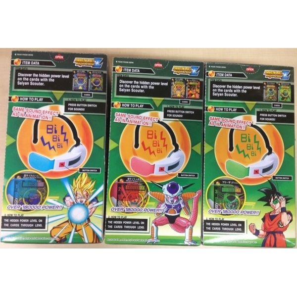 Scouter Dragon Ball Z con sonido Saiyan Scouter