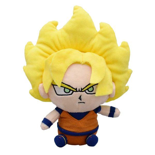 Peluche Goku SSJ Dragon Ball 15 cms