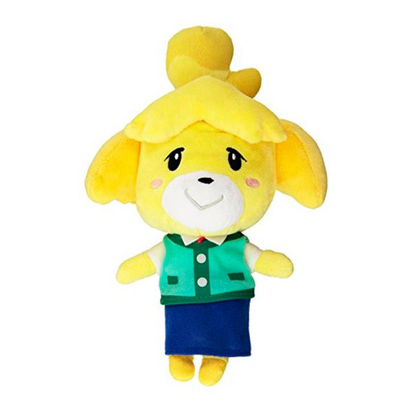 Peluche Shizue Isabelle Animal Crossing 20 cms