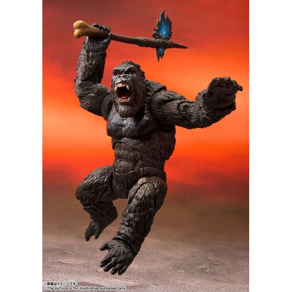 Figura Kong Godzilla vs Kong 2021 SH MonsterArts