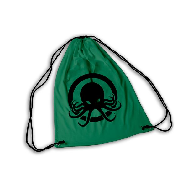 Mochila GYM Cthulhu Black & Green