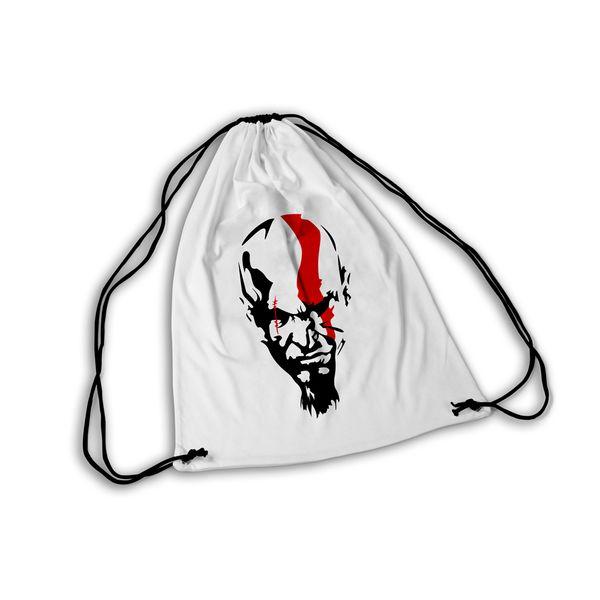 Mochila GYM God of War Kratos Head