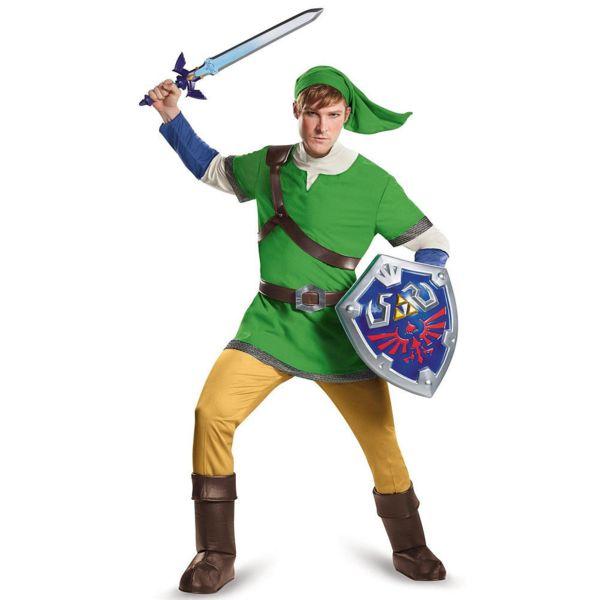 Cosplay The Legend of Zelda - Link Deluxe Adulto