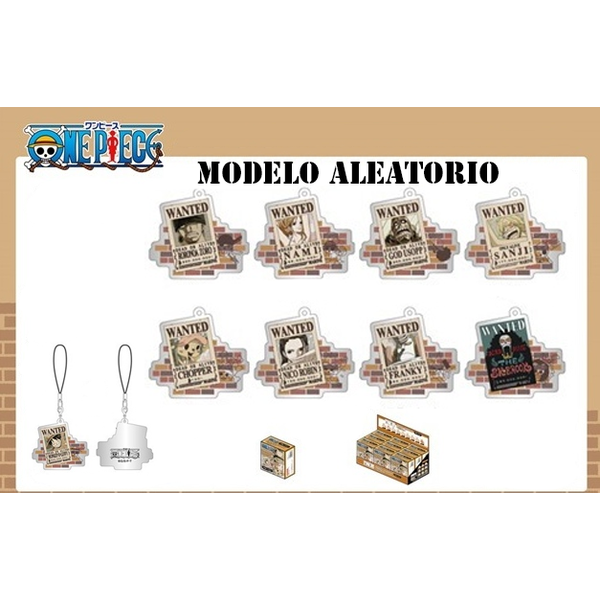 One Piece Strap Metal Charm Wanted Poster Ver