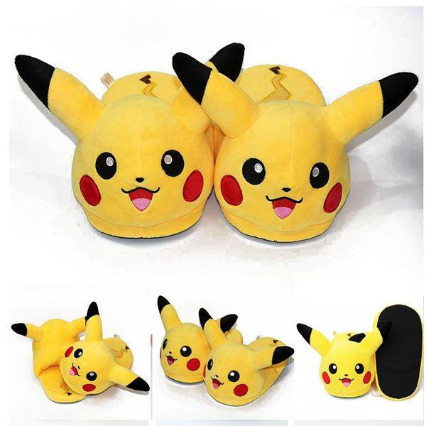 044ed57738b7 Pikachu Slippers Pokemon  2