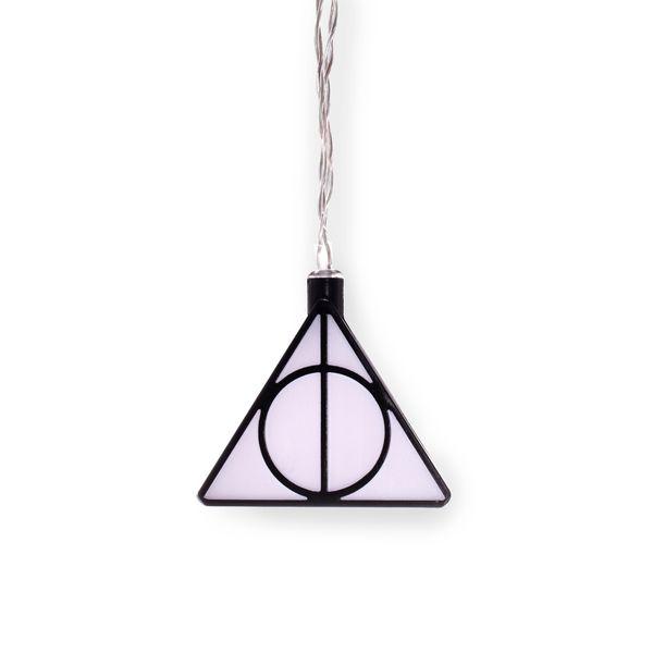Luces Reliquias de la Muerte Harry Potter 3D