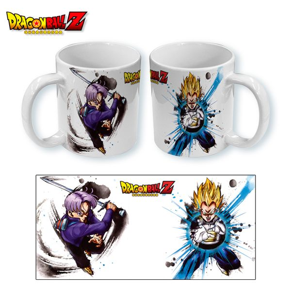 Taza Dragon Ball Z - Trunks Vegeta Paint