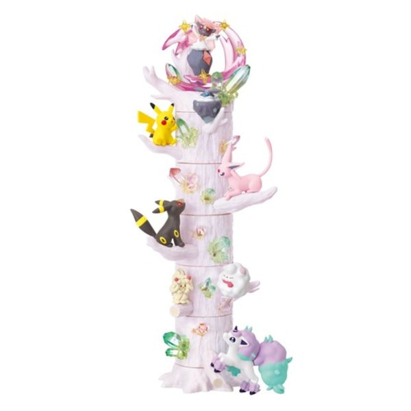 Figuras Atsumete! Kasanete! Pokemon No Mori Set 6