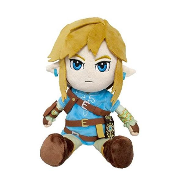 Peluche Link The Legend Of Zelda Breath Of The Wild 30 cm