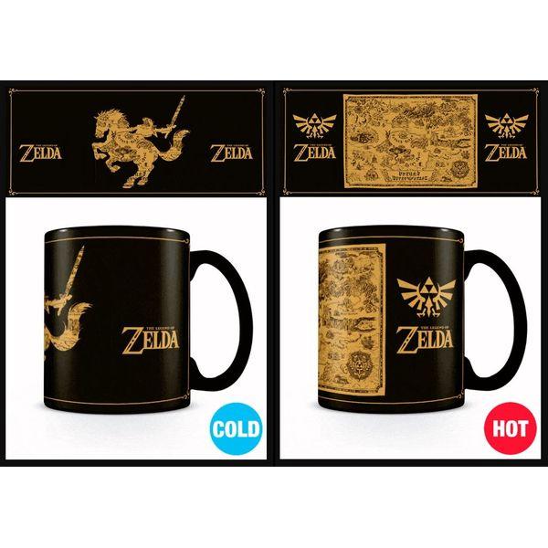 Map Heat Change Mug The Legend Of Zelda