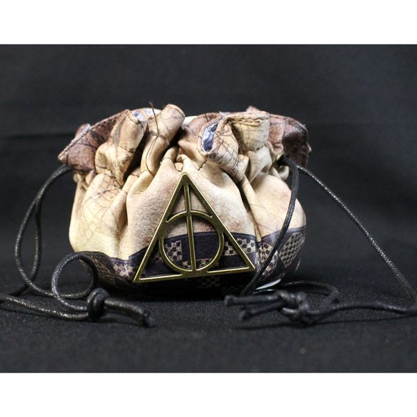 Deathly Gallows Symbol Coin Purse Harry Potter