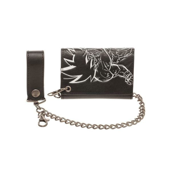 Son Goku Wallet With Chain Dragon Ball Z