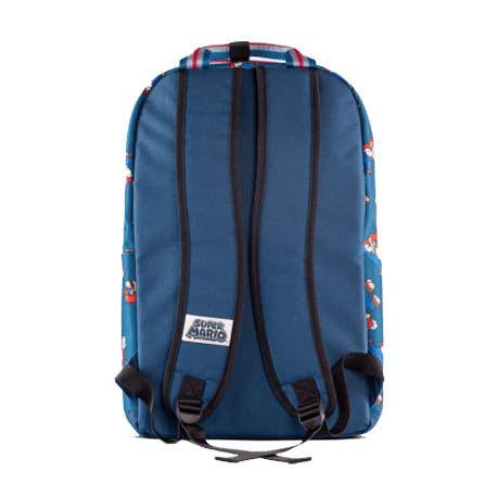 Super Mario Backpack Nintendo Blue