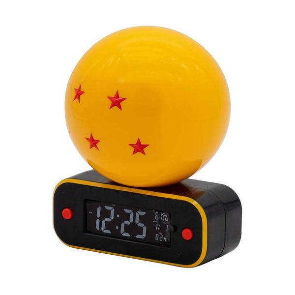 Reloj Despertador Bola de Dragon 4 Estrellas Dragon Ball