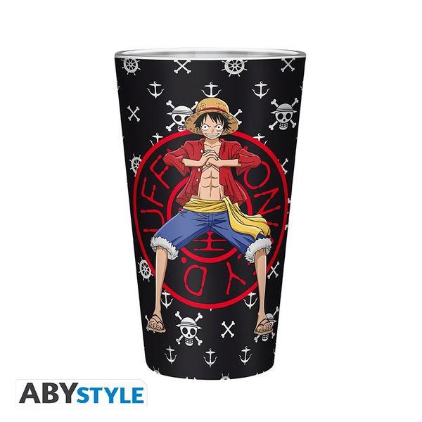 Luffy Glass One Piece 400ml