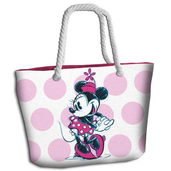 Bolso de Playa Minnie Mouse Pink Disney
