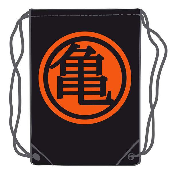 Black Kame Kanji GYM Bag Dragon Ball