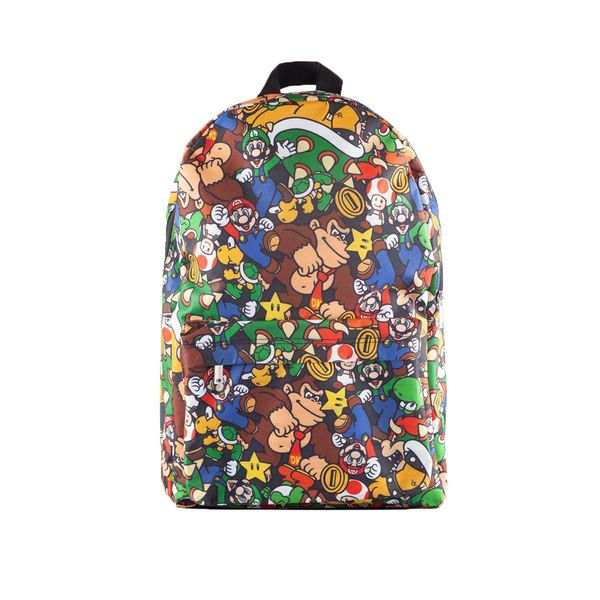 Mochila Super Mario Characters Nintendo