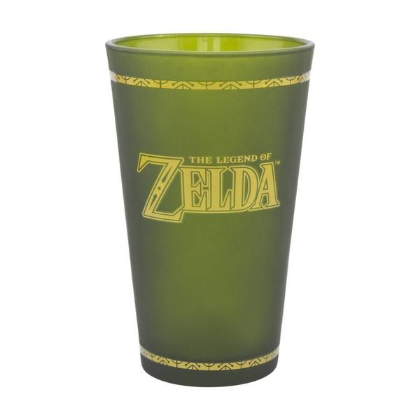 Hyrule Shield Large Glass The Legend of Zelda 450ml