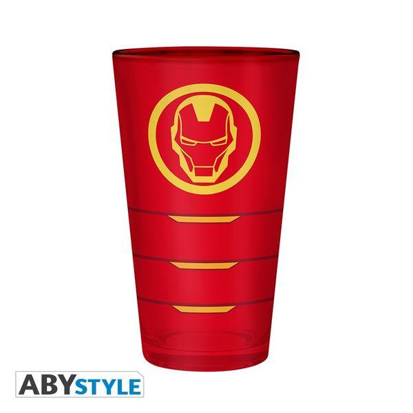 Vaso Iron Man Marvel 400ml