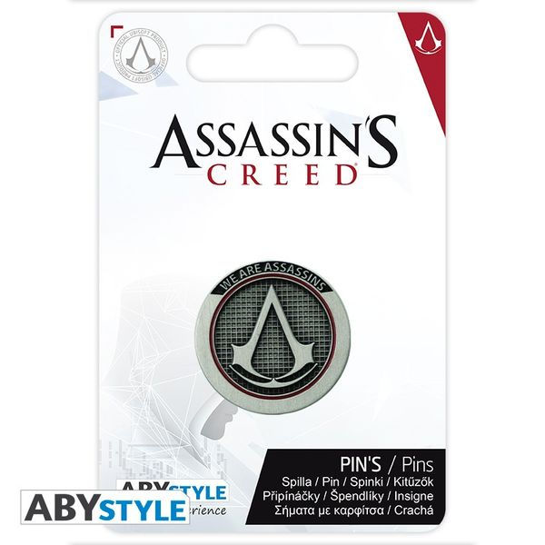 Pin Crest Logo Assassin's Creed