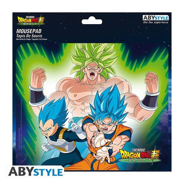 Broly VS Goku & Vegeta Flexible Mousepad Dragon Ball Super