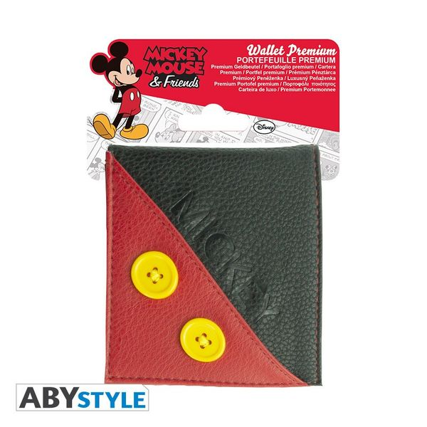Cartera Mickey Botones Disney