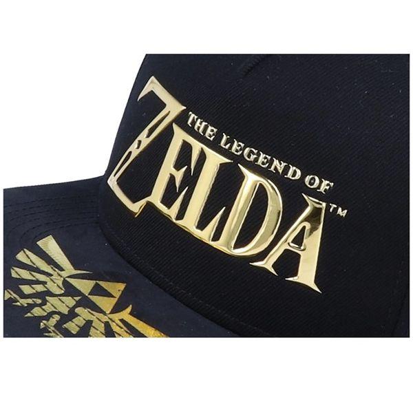 The Legend Of Zelda Metallic Logo Snapback Cap