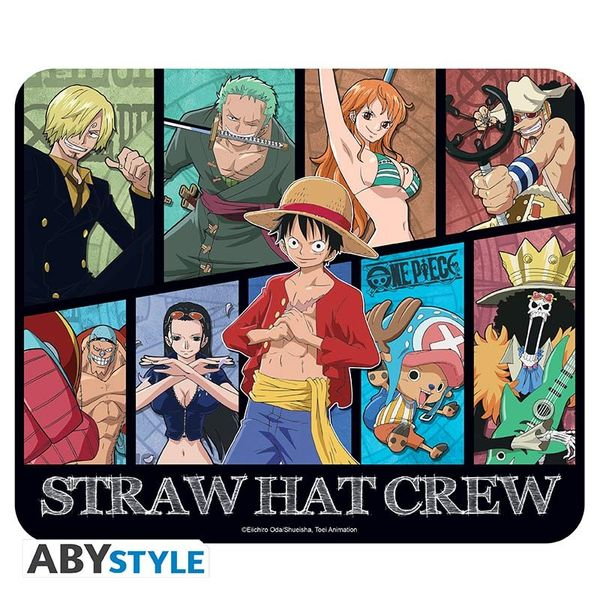 Straw Hat Pirates Mouse Pad One Piece