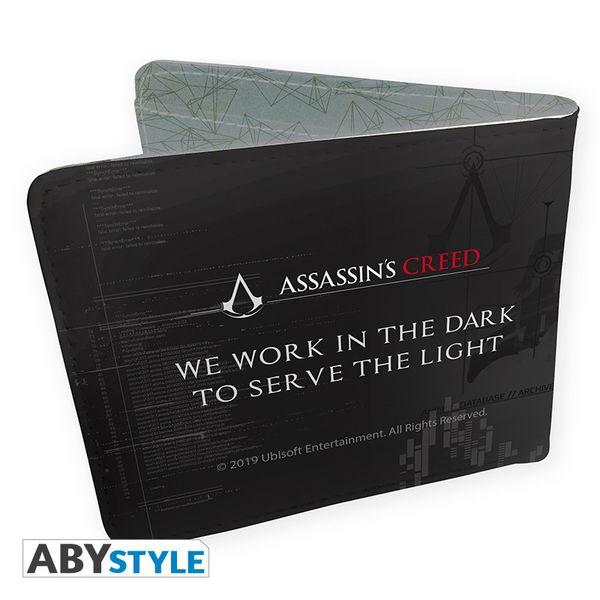 Cartera Crest Assassins Creed We Work in the Dark