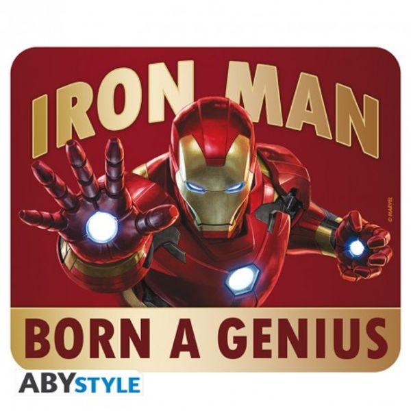Mousepad Born to be a Genius Iron Man