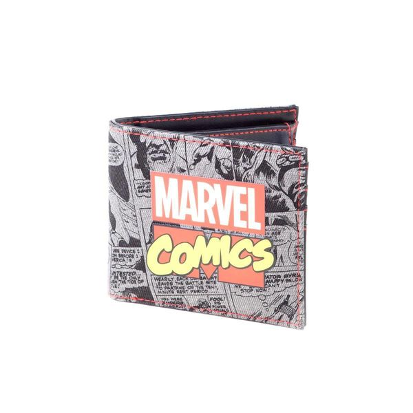 Monedero Marvel Comics Logo