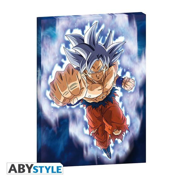 Goku Ultra Instinc Dragon Ball Super Canvas 30 x 40 x 2 Poster