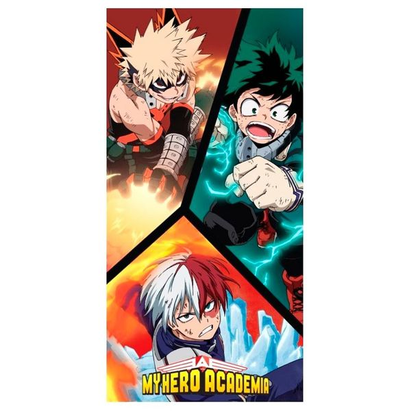 Toalla My Hero Academia Heroes 140 x 70 cms