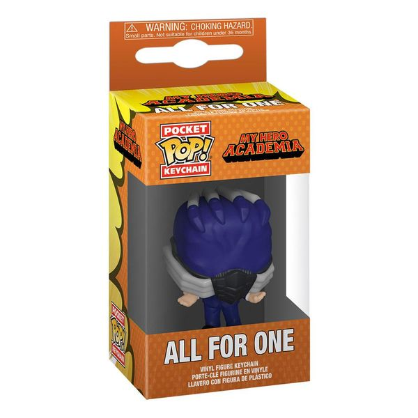 All For One Funko Key Chain My Hero Academia POP!