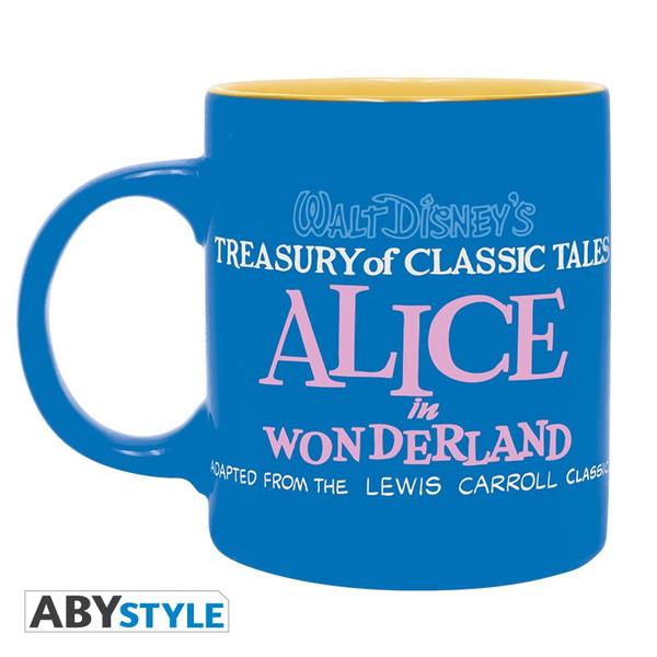 Taza Alicia en el Pais de las Maravillas Azul Disney