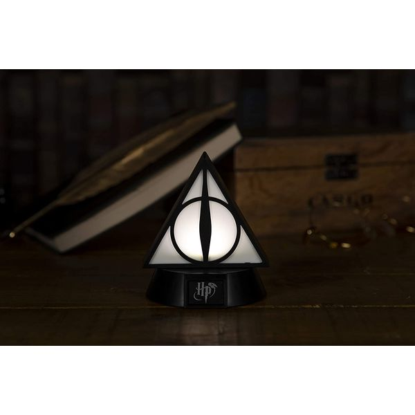 Lampara 3D Reliquias de la Muerte Harry Potter