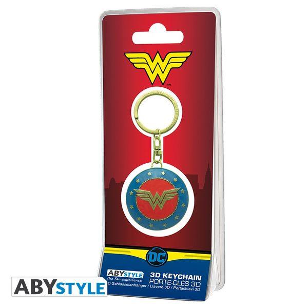 Llavero 3D Escudo Wonder Woman DC Comics