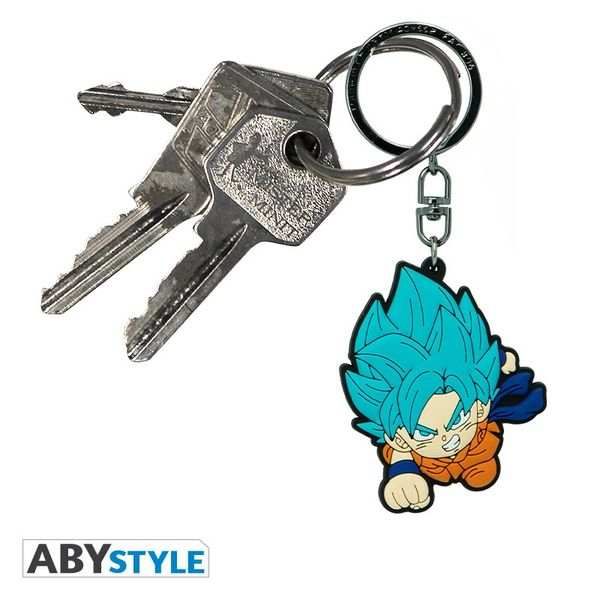 Llavero Goku SSGSS ABYstyle Dragon Ball Super